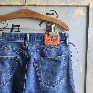 Vintage 501 Levi's Mom Jeans Straight Leg Unisex